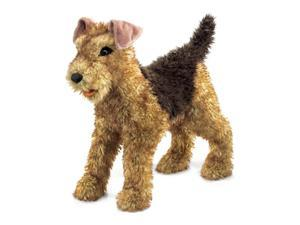 Folkmanis Airedale Terrier Hand Puppet