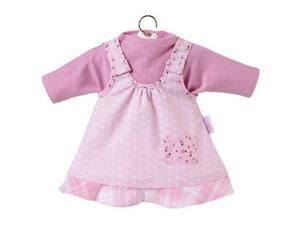 Charming Pink Dress Set 14 Inch - Doll Clothes by Corolle (R9965)