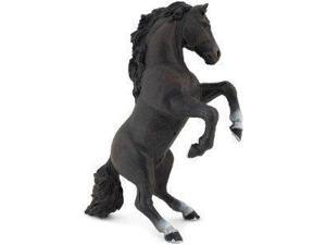 Black Reared Up Horse - Play Animal Figure by Papo Figures (51522)