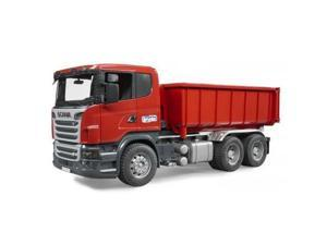 Scania R-Series Truck with Tipping Container Vehicle Toy Bruder Trucks (03522)