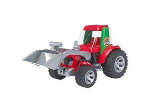Tractor with Front End Loader & Tipper - Vehicle Toys by Bruder Trucks (20116)