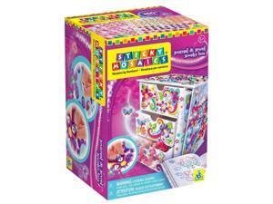 Journal & Jewelry Box (Sticky Mosaics) - Craft Kit by Orb Factory (69827)