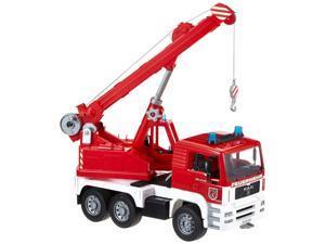 Fire Engine Crane - Vehicle Toy by Bruder Trucks (02770)