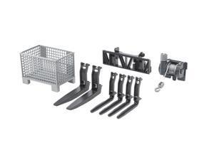 Frontloader Accessories Set 1 - Vehicle Toy by Bruder Trucks (02318)