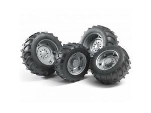 Twin Tires Silver 02000 Series - Vehicle Toy by Bruder Trucks (02316)