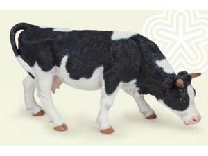 Black & White Grazing Cow - Play Animal Figure by Papo Figures (51150)