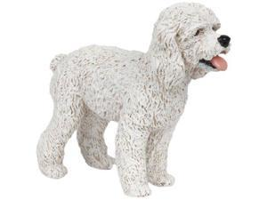White Poodle - Play Animal Figure by Papo Figures (54016)