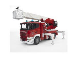 Fire Engine with Water Pump - Vehicle Toys by Bruder Trucks (03590)