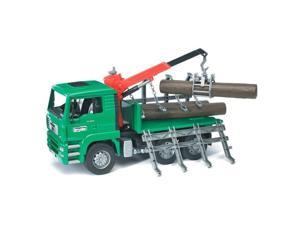 Timber Truck with Load Crane - Vehicle Toys by Bruder Trucks (02769)