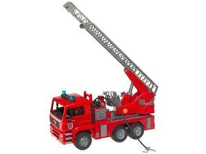 Fire Truck with Light & Sound (MAN) - Vehicle Toys by Bruder Trucks (02771)