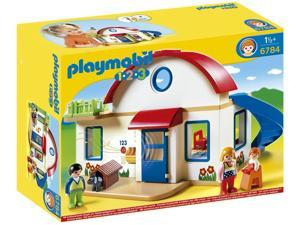 Suburban House 1,2,3 - Play Set by Playmobil (6784)