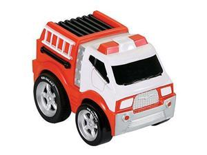Soft Fire Truck Pull-Back - Vehicle Toy by Kid Galaxy (10902)