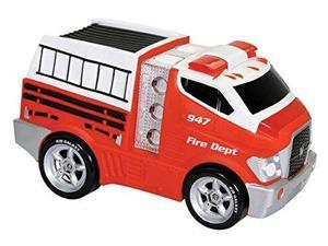 Soft Fire Truck with Lights & Sounds - Vehicle Toy by Kid Galaxy (10913)