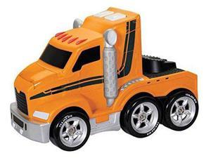 Soft Big Rig with Lights & Sounds - Vehicle Toy by Kid Galaxy (10933)