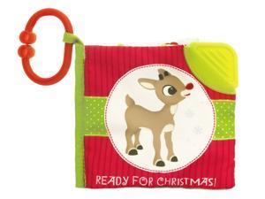 Rudolph Soft Book - Baby Stuffed Animal by Kids Preferred (23006)