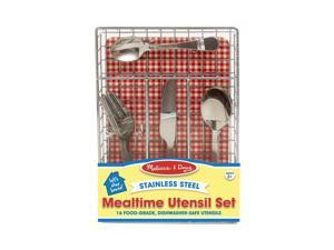 Mealtime Utensil Set - Kitchen Play by Melissa & Doug (9347)