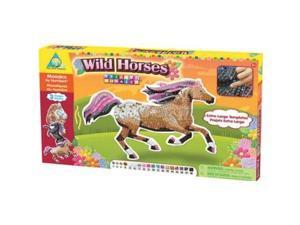 Wild Horses Sticky Mosaics - Craft Kits by Orb Factory (65232)