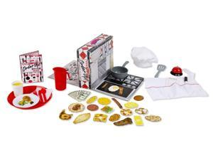 Order Up! Diner Playset - Pretend Play Toy by Melissa & Doug (8515)