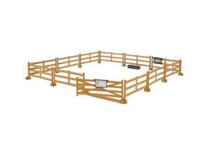 Pasture Fence Brown - Vehicle Toy by Bruder Trucks (62604)
