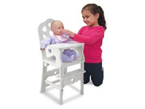 Wooden High Chair - Doll Furniture by Melissa & Doug (9382)