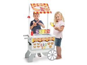 Snacks & Sweets Food Cart - Pretend Play Toy by Melissa & Doug (9350)