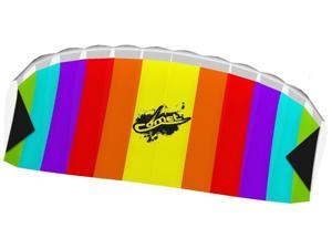 Comet Rainbow Stunt Foil Kite - Outdoor Fun Toy by HQ Kites (102171)
