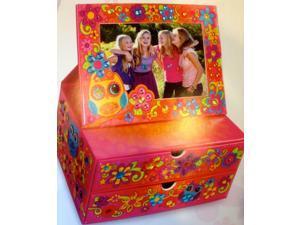 Flip Frame Jewelry Box Sticky Mosaics - Craft Kit by Orb Factory (72278)