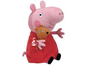 Peppa Pig Beanie Medium - Stuffed Animal by Ty (96230)