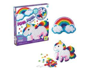 Rainbow Dream Pom Pom Picture - Craft Kit by Orb Factory (70403)