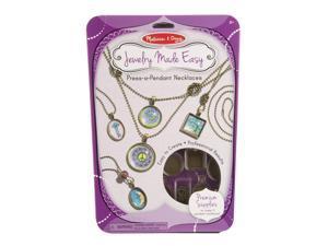 Press-A-Pendant Necklace Kit - Craft Kit by Melissa & Doug (9471)