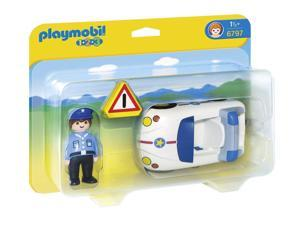 Police Car 1,2,3 - Play Figures by Playmobil (6797)