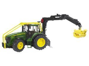 Forestry Tractor 7930 (John Deere) - Vehicle Toy by Bruder Trucks (09809)