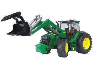 Tractor 7930 with Frontloader (John Deere) - Vehicle Toy Bruder Trucks (09807)
