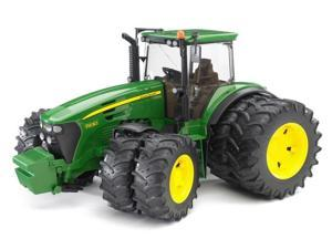 Tractor 7930 with Double Twin Tires (John Deere) Vehicle Toy by Bruder (09808)