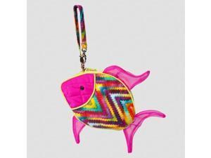 Tropical Fish Silloette Purse 8 inch Stuffed Animal Douglas Cuddle Toys (5570)