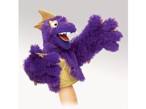 Purple Pi Monster Puppet - Puppet by Folkmanis (2946)