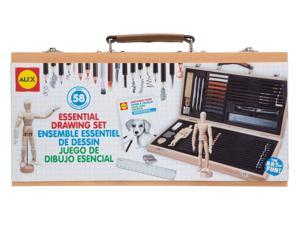 Essential Drawing Set - Art Supplies by Alex Toys (58W)