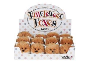 Tumbleweed Fox 3 inch (One Individual Fox) - Stuffed Animal by Ganz (H13627)