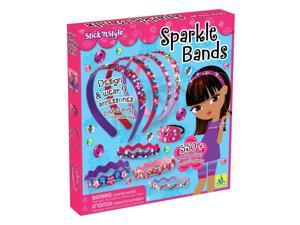 Sparkle Bands Stick N Style - Craft Kit by Orb Factory (70076)