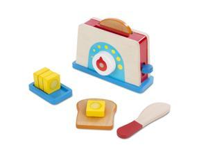 Toaster, Bread & Butter Set - Kitchen Play by Melissa & Doug (9344)