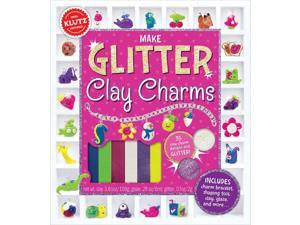 Make Glitter Clay Charms - Craft Kit by Klutz (585846)