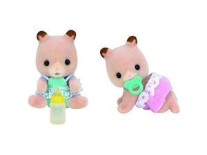 Fluffy Hamster Twins - Doll House Figures by Calico Critters (CC1491)