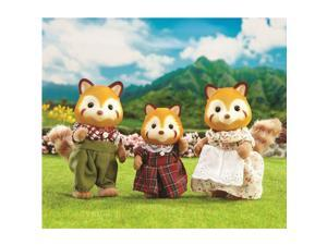 Red Panda Family - Doll House Figures by Calico Critters (CC1492)