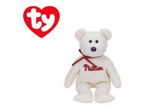 Philadelphia Phillies MLB Beanie Baby - Teddy Bear by TY (41708)