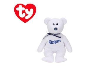 Los Angeles Dodgers MLB Beanie Baby - Teddy Bear by TY (41705)