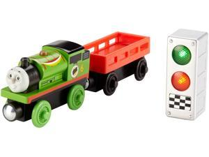 Percy Ready, Set, Race Racing Pack (Wooden) - Train by Thomas & Friends (DFW80)
