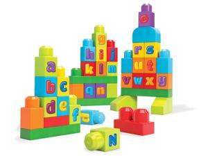 ABC Spell Rainbow Bag - First Builders - 40 pcs. by MEGA Bloks (DKX58)