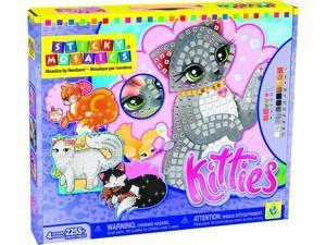 Sticky Mosaics Kitties - Craft Kit by Orb Factory (73053)