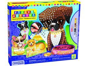Sticky Mosaics Playful Pup - Craft Kit by Orb Factory (73046)