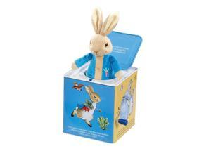 Peter Rabbit Jack-in-the-Box - Stuffed Animal by Kids Preferred (24106)